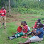 The Water Project: Mwichina Community, Shihunwa Spring -  Dental Hygiene Training