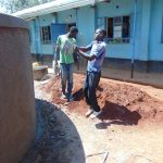 The Water Project: Hombala Secondary School -  Cleaning The Tools