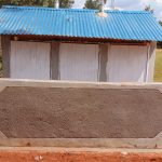 The Water Project: Hombala Secondary School -  Completed Latrine