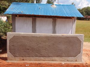 The Water Project:  Completed Latrine