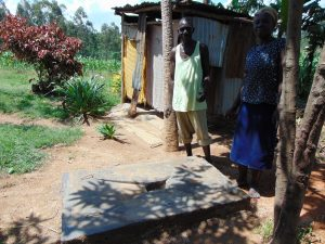 The Water Project:  Sanitation Platform Beneficiaries