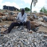 The Water Project: Kathonzweni Community -  Breaking Up Stones