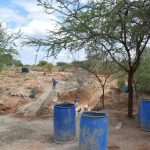 The Water Project: Kathonzweni Community -  Dam Construction