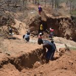 The Water Project: Kathonzweni Community -  Trenching