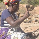 The Water Project: Kathungutu Community -  Breaking Rocks