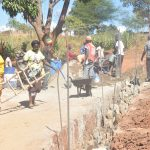 The Water Project: Kathungutu Community -  Dam Construction
