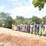 The Water Project: Kathungutu Community -  Shg Members Celebrate New Dam