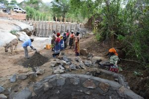 The Water Project:  Well And Dam