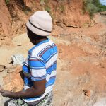 The Water Project: Kathonzweni Community A -  Carrying Rocks