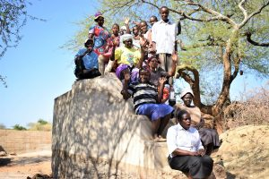 The Water Project:  Shg Members At The Well