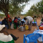 The Water Project: Kathonzweni Community A -  Soapmaking