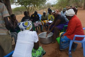 The Water Project:  Soapmaking