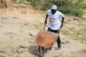 The Water Project:  Carrying Materials