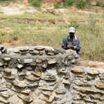 The Water Project: Mwau Community A -  Mason Works On Well
