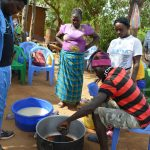 The Water Project: Mwau Community A -  Soapmaking