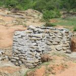 The Water Project: Mwau Community A -  Well Consturction