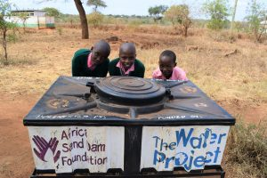The Water Project:  At The New Handwashing Station