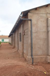 The Water Project:  Guttering For Collecting Water