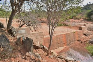 The Water Project:  Nearby Sand Dam