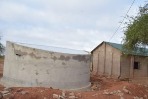 The Water Project:  Tank And School Building