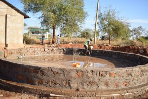 The Water Project:  Tank Construciton