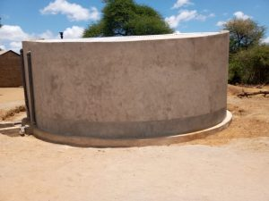 The Water Project:  Cement Drying