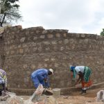The Water Project: Kakunike Primary School -  Construction