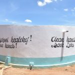 The Water Project: Kakunike Primary School -  Finished Tank