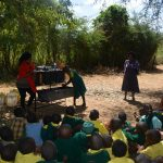 The Water Project: Kakunike Primary School -  Handwashing Demonstration