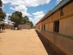The Water Project:  School Grounds With New Tank Drying