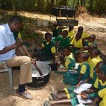 The Water Project: Kakunike Primary School -  Soapmaking
