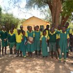 The Water Project: Kakunike Primary School -  Student Demonstration