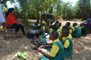 The Water Project:  Students Learn About Soapmaking