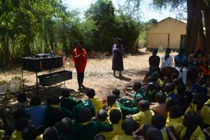 The Water Project:  Trainer Discusses Handwashing