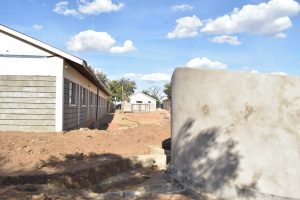 The Water Project:  Curing Tank And School Building