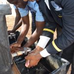 The Water Project: Kalulini Boys' Secondary School -  Handwashing