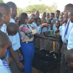 The Water Project: Kalulini Boys' Secondary School -  Handwashing Demonstration