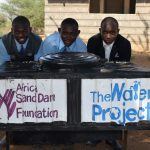 The Water Project: Kalulini Boys' Secondary School -  Handwashing Station