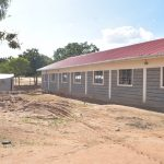 The Water Project: Kalulini Boys' Secondary School -  Nearly Complete Tank And School Building