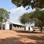 The Water Project: Kalulini Boys' Secondary School -  School Grounds With The New Tank