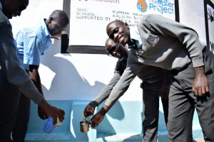 The Water Project:  Students Collect Water