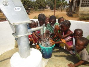 The Water Project:  Children Playing At The Well