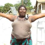 The Water Project: Tholmossor, Amputee Camp -  Community Woman Rejoicing For Safe Drinking Water