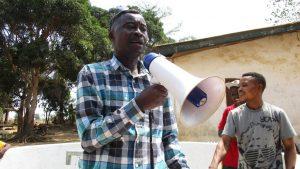The Water Project:  Counselor Abu Bakarr Koroma Making Statement