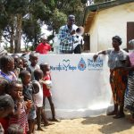 The Water Project: Tholmossor, Amputee Camp -  Counselor Abu Bakarr Koroma Delivering Remarks