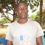 The Water Project: Tholmossor, Amputee Camp -  Mr Sulaiman Kargbo