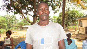 The Water Project:  Mr Sulaiman Kargbo