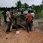 The Water Project: Kimigi Kyamatama Community -  Construction