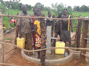 The Water Project:  Fetching Water At The Well