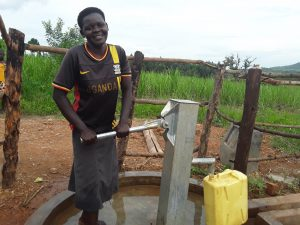 The Water Project:  Jane Fetching Water